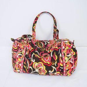 Vera Bradley Medium Overnight Duffle Bag Floral